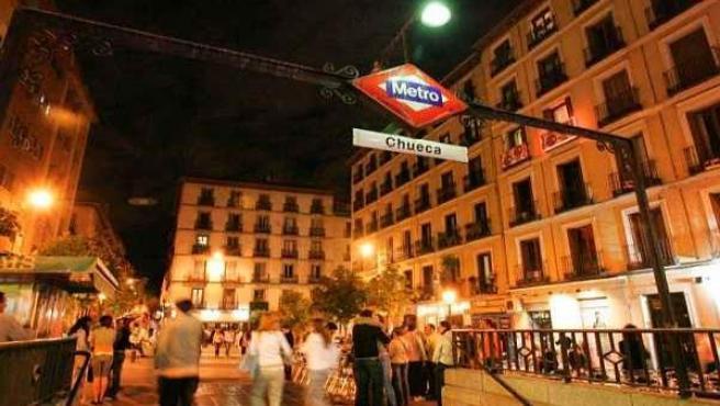Plaza de Chueca.