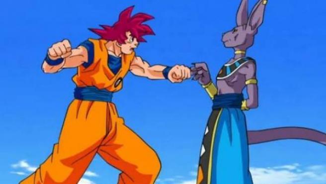 Uno de los feos fotogramas de 'Dragon Ball Super'.