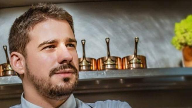 El cocinero madrileño JAvier Estévez, en una imágen de su página web.