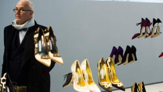 Manolo Blahnik, en la Semana de la Moda de Nueva York de 2014.