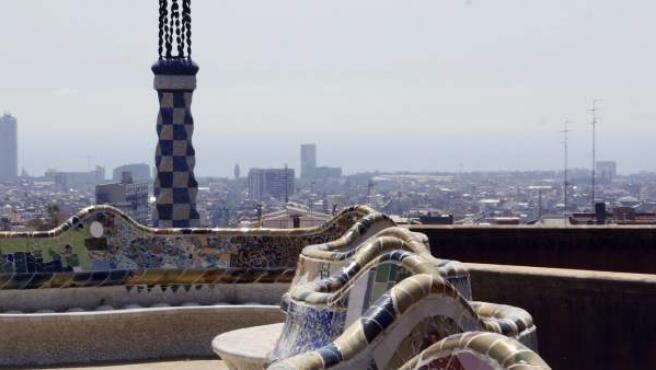 Vistas desde el Parc Güell de Barcelona
