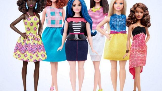 Alta, baja y 'curvy', los nuevos modelos de Barbie que se unen a los ya existentes.
