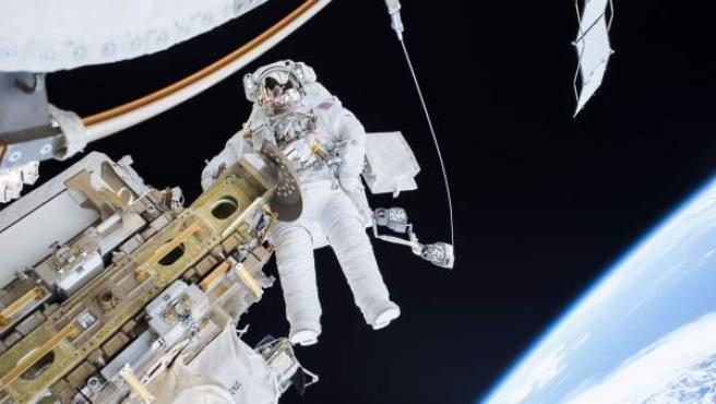 Un astronauta de la NASA.