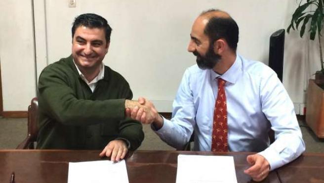 Firmantes del acuerdo
