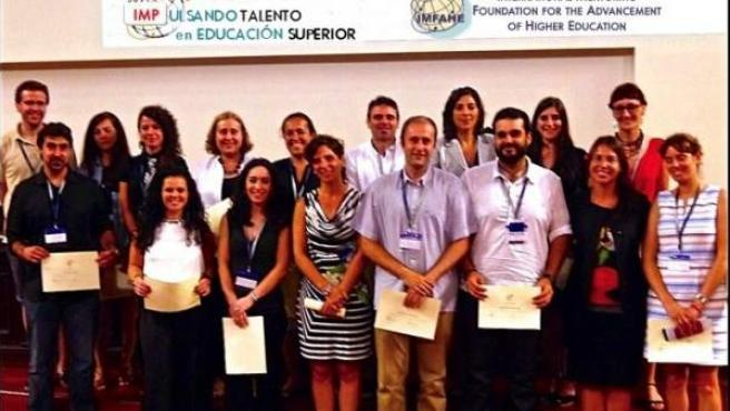 Miembros del programa IMP (Internacional Mentor Program), del que se benefician 2.000 universitarios españoles.