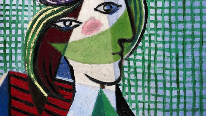 'Cabeza de mujer', pintado por Picasso en 1935 con su amante Marie-Thérèse Walter como modelo