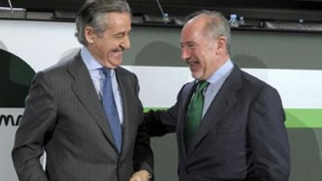 Miguel Blesa y Rodrigo Rato, expresidentes de Caja Madrid y Bankia.