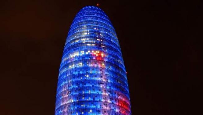 Torre Agbar, en Barcelona.