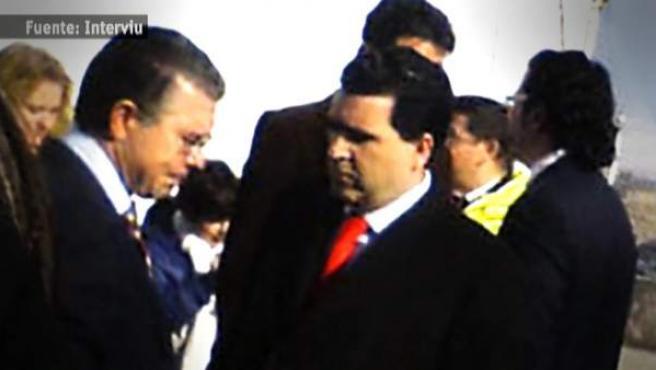 El empresario David Marjaliza, 'cerebro' de la operación Púnica, con su presunto socio, Francisco Granados exconsejero del PP y número 2 del PP madrileño.