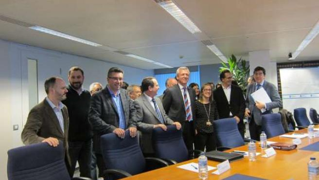 Reunión de la Xunta y representantes de los 14 municipios del área metropolitana