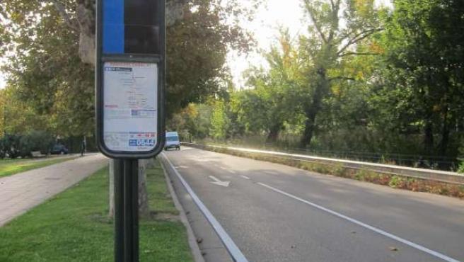 Autobuses de Zaragoza.