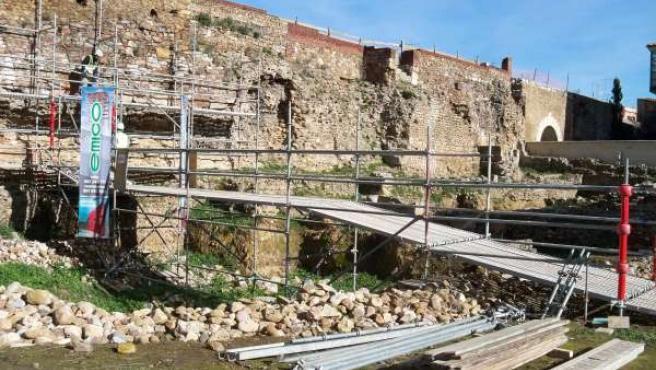 La Muralla De León Recuperará Un Nuevo Tramo Transitable En Verano