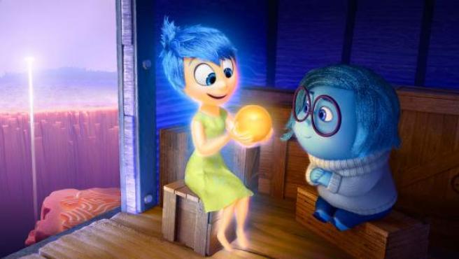 Escena de la película 'Del revés'.