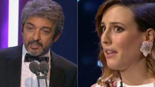 Mejores actores de los Goya.