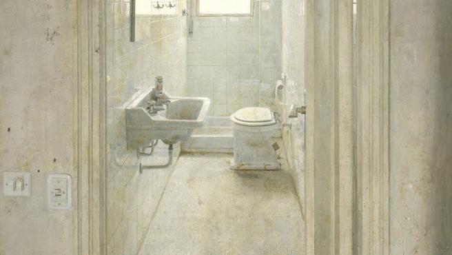 'El cuarto de baño' (1966), obra de Antonio López