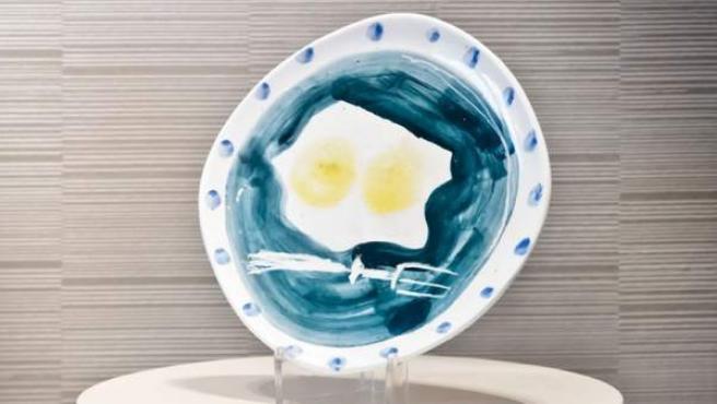 Una de las cerámicas de Picasso subastadas por Christie's y que pertenecían a la colección de Miguel Bosé.