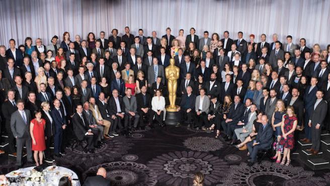 Foto del día: El almuerzo de los nominados a los Oscar 2016