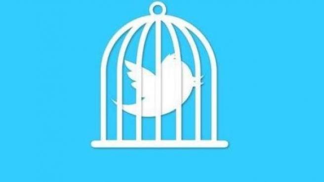 Símbolo usado por algunos tuiteros para mostrar su descontento por la supuesta novedad que Twitter pretende implantar.
