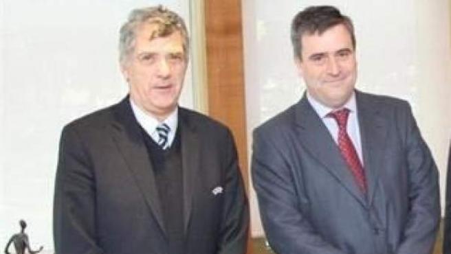 Miguel Cardenal (CSD) y Ángel María Villar (RFEF).