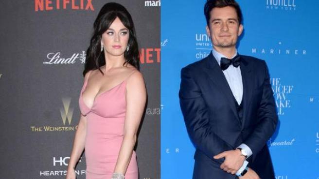 Katy Perry y Orlando Bloom, en imágenes recientes.