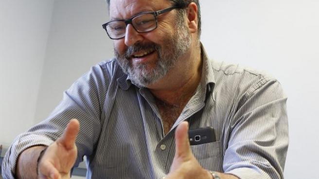 Javier Barbero, concejal de Seguridad, Salud y Emergencias del Ayuntamiento de Madrid.