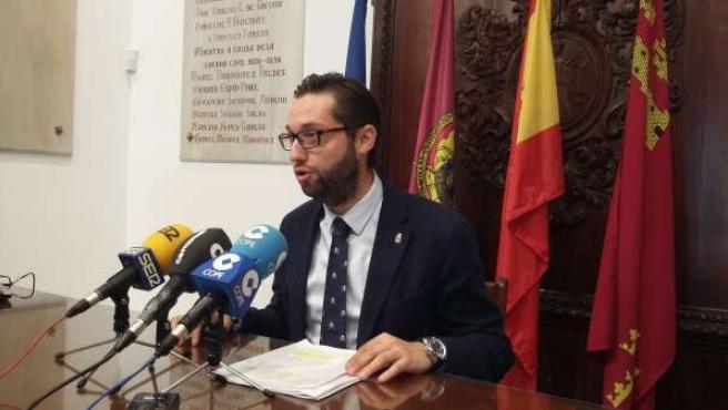 El concejal de Sociedad de la Información, Juan Francisco Martínez