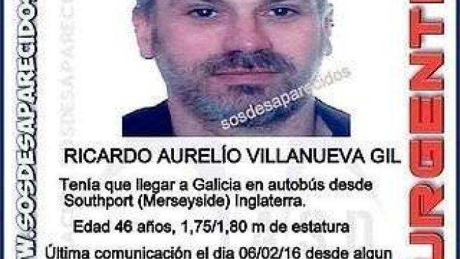 Desaparecido Ricardo Villanueva