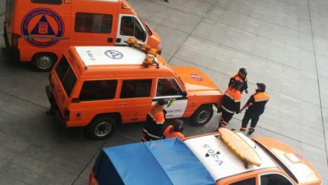Voluntarios de Protección Civil de Logroño