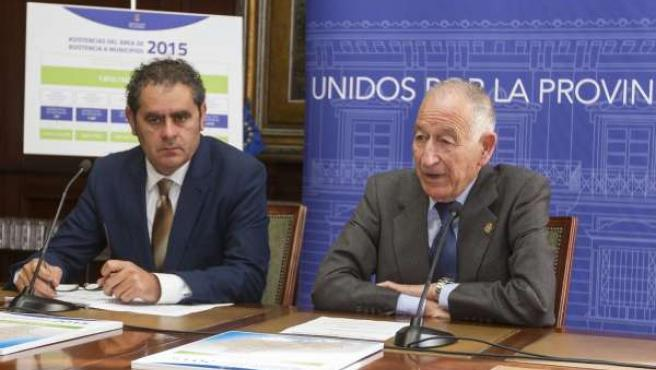 Gabriel Amat y Antonio Torres han ofrecido un balance del servicio a municipios.