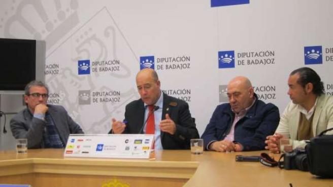 Rueda de prensa de la Escuela Taurina de la Diputación de Badajoz