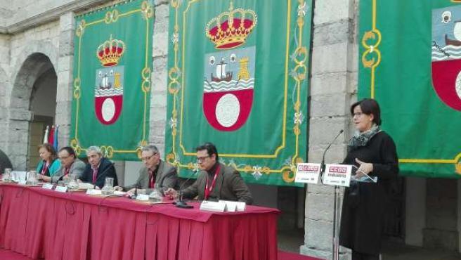 Nota Y Foto Inauguración Jornada TTIP En El Parlamento