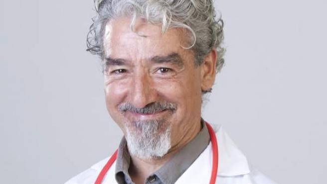 Sergio Pazos, caracterizado para la comedia 'Diablillos Rojos'.