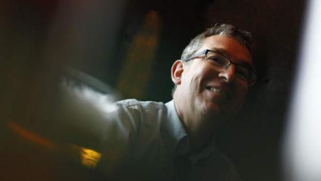 El escritor Santiago Posteguillo, en Madrid.