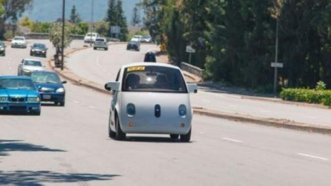 El coche autoconducido de Google.