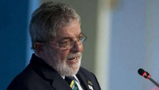 Imagen de archivo del expresidente Luiz Inácio Lula da Silva.