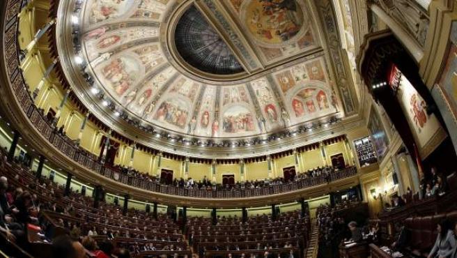 Momento de las votaciones en la segunda votación de la investidura de Pedro Sánchez.
