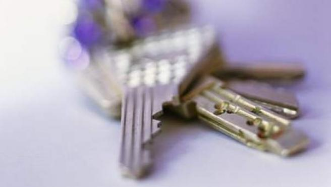 Las llaves de una vivienda.
