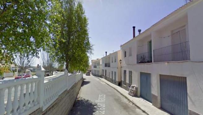 Imagen de la calle San Marcos, en Oria (Almería).