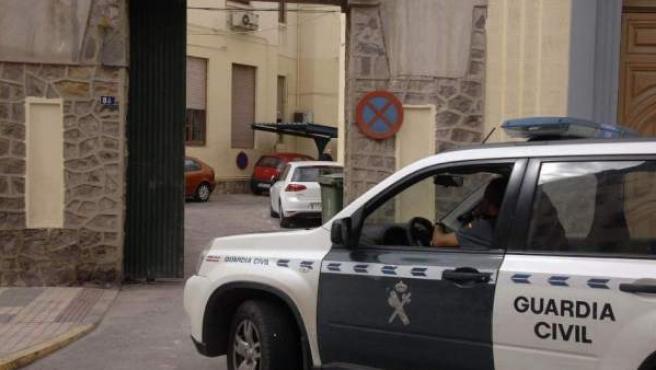 Un coche de la Guardia Civil, en una imagen de archivo.