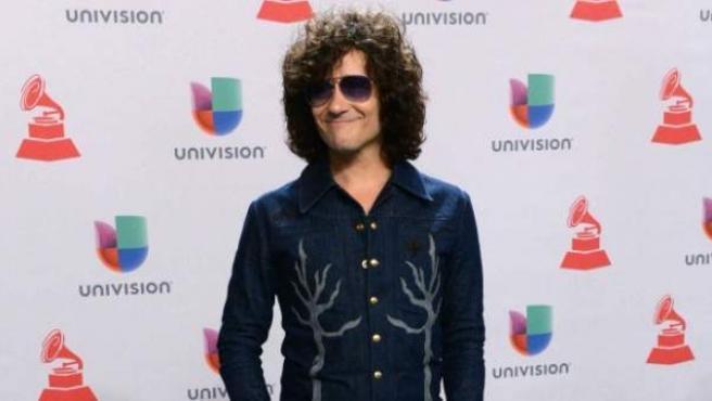 Enrique Bunbury, en la gala de los Grammy Latinos.