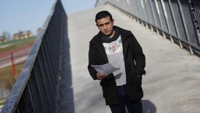 Sergio fue víctima de una agresión homófoba en enero.