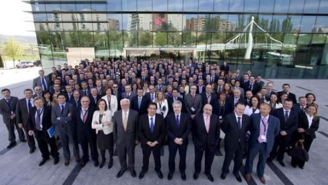 Convención de directivos de banca.