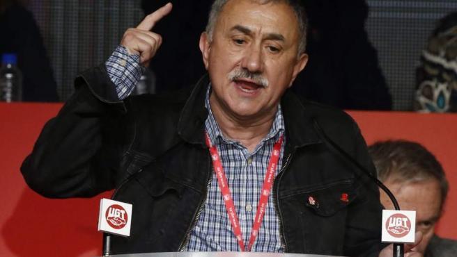 El secretario general de UGT, Josep Maria Àlvarez.