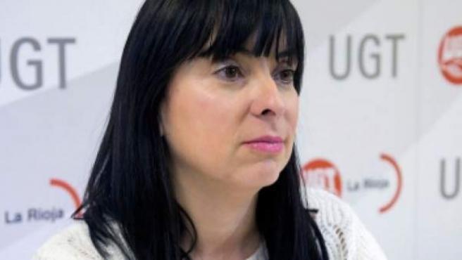 La nueva vicesecretaria general de UGT, Cristina Antoñanzas.