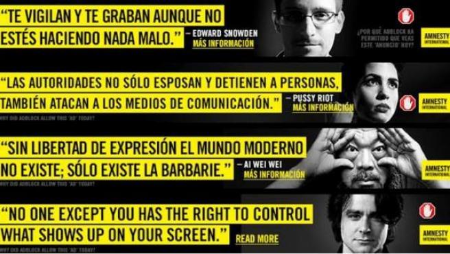 El 12 de marzo es el Día Mundial contra la censura en Internet creado por Amnistía Internacional y Reporteros Sin Fronteras.