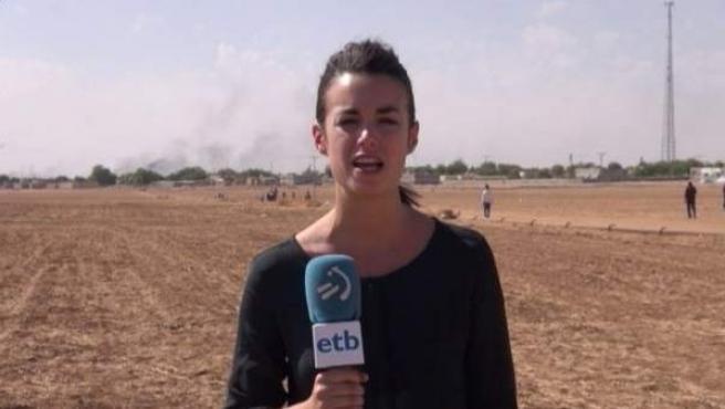 La periodista de ETB, Ane Irazabal, ha sido detenida en Macedonia.