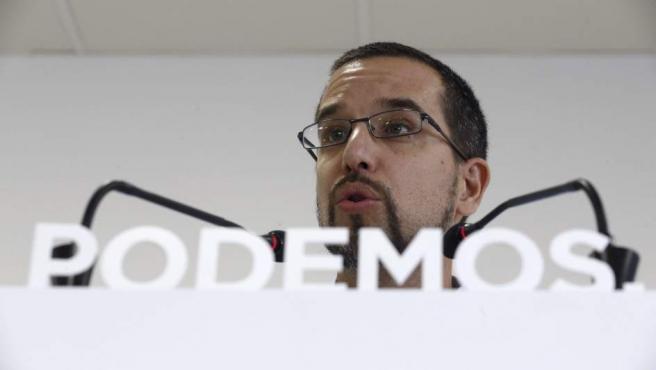 Sergio Pascual, exsecretario de Organización de Podemos.