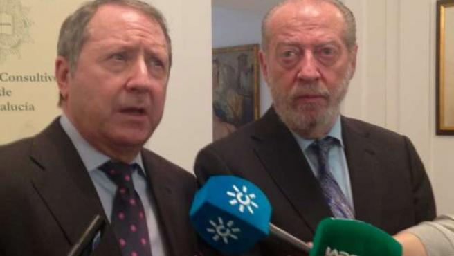 Juan Cano Bueso y Fernando Rodríguez Villalobos