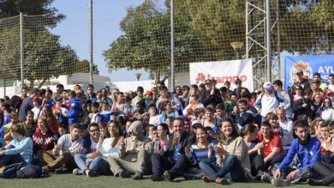 El Club Natación Almería celebra las Jornadas de Deporte e Integración.
