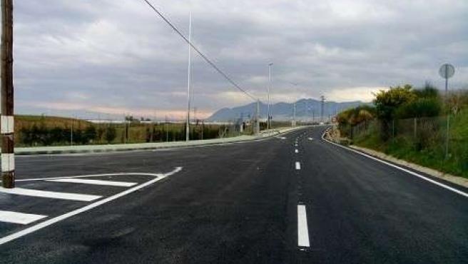 Vial de acceso al Chare del Guadalhorce